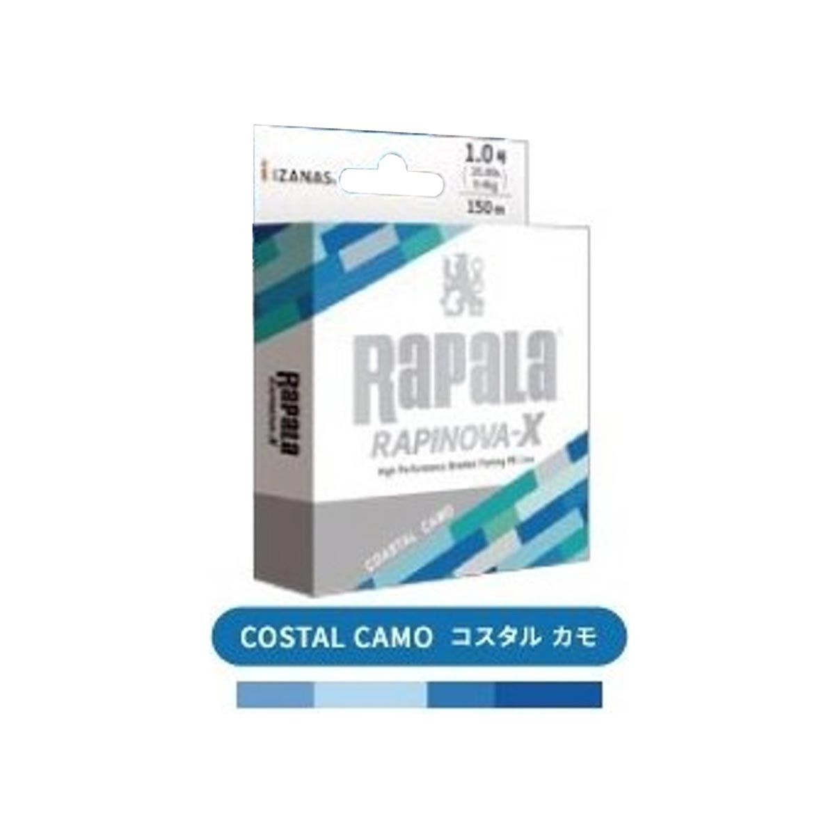 RAPALA RAPINOVA-X 150M COASTAL CAMO