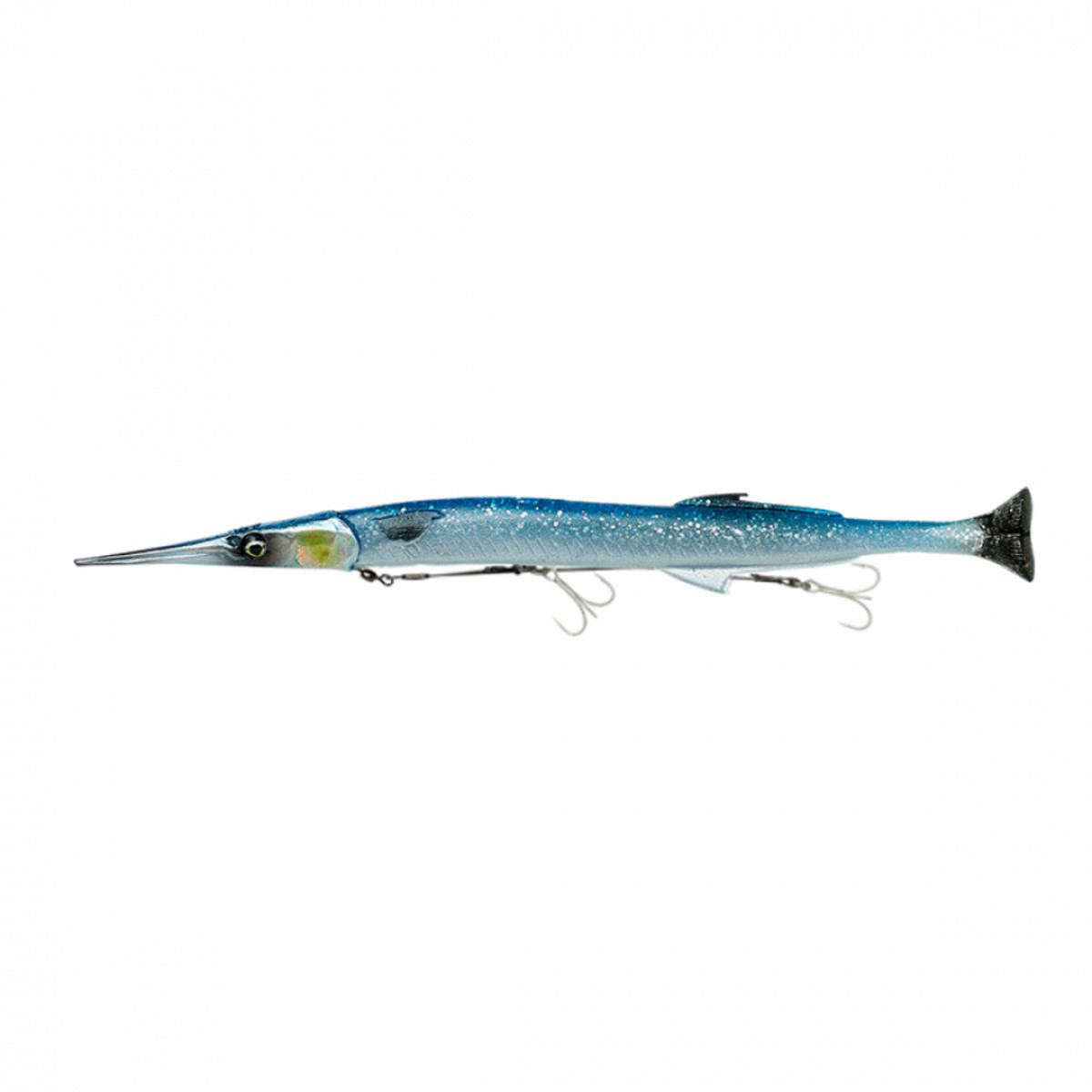 3D Line Thru Needlefish Pulse Tail