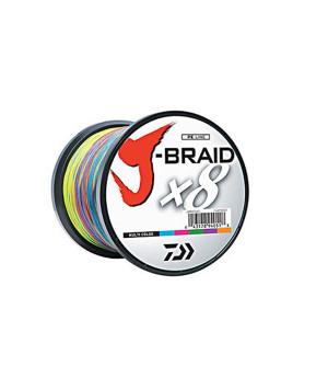 DAIWA J-BRAID X8 1500M MULTI COLOR