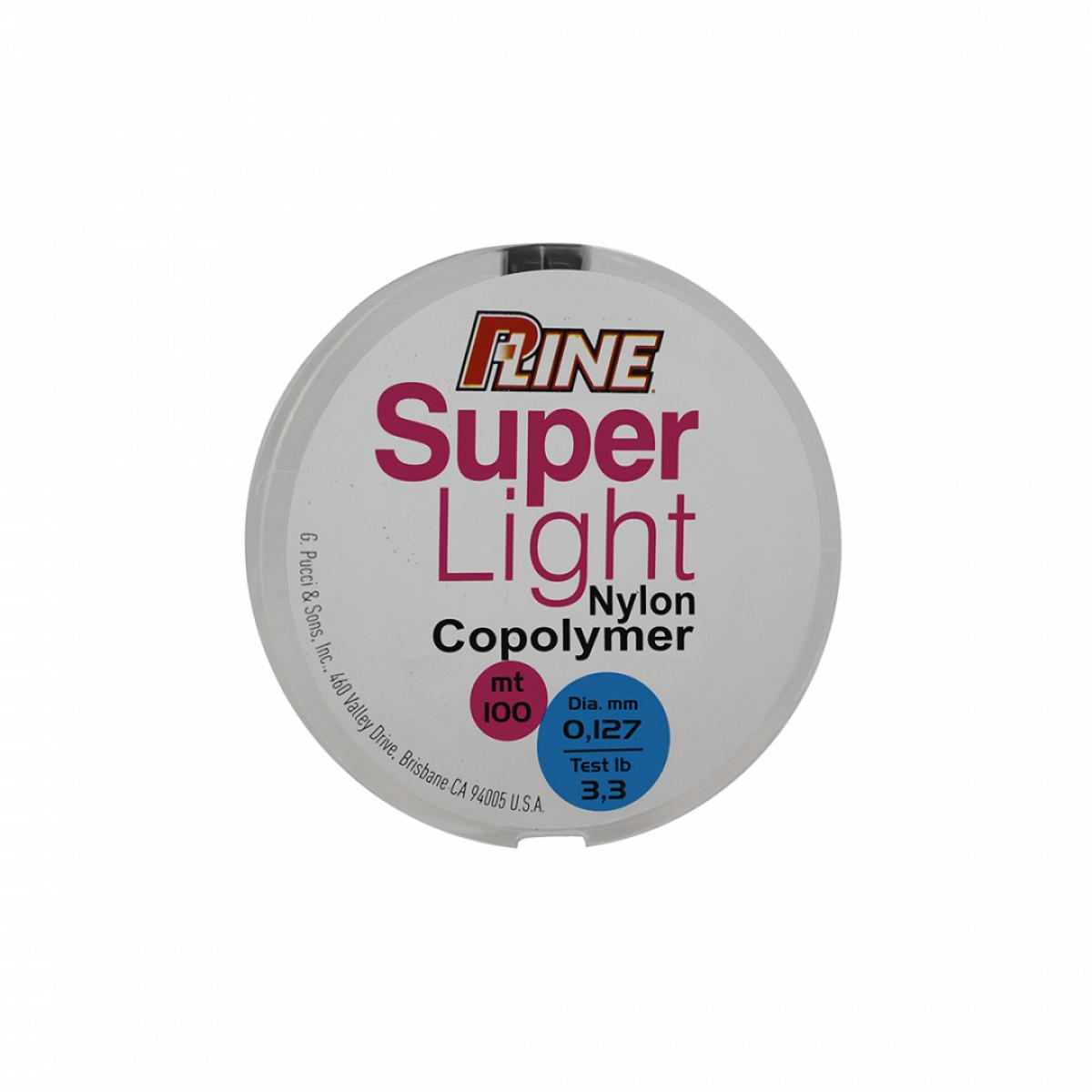 P-LINE SUPER LIGHT COPOLYMER 100M