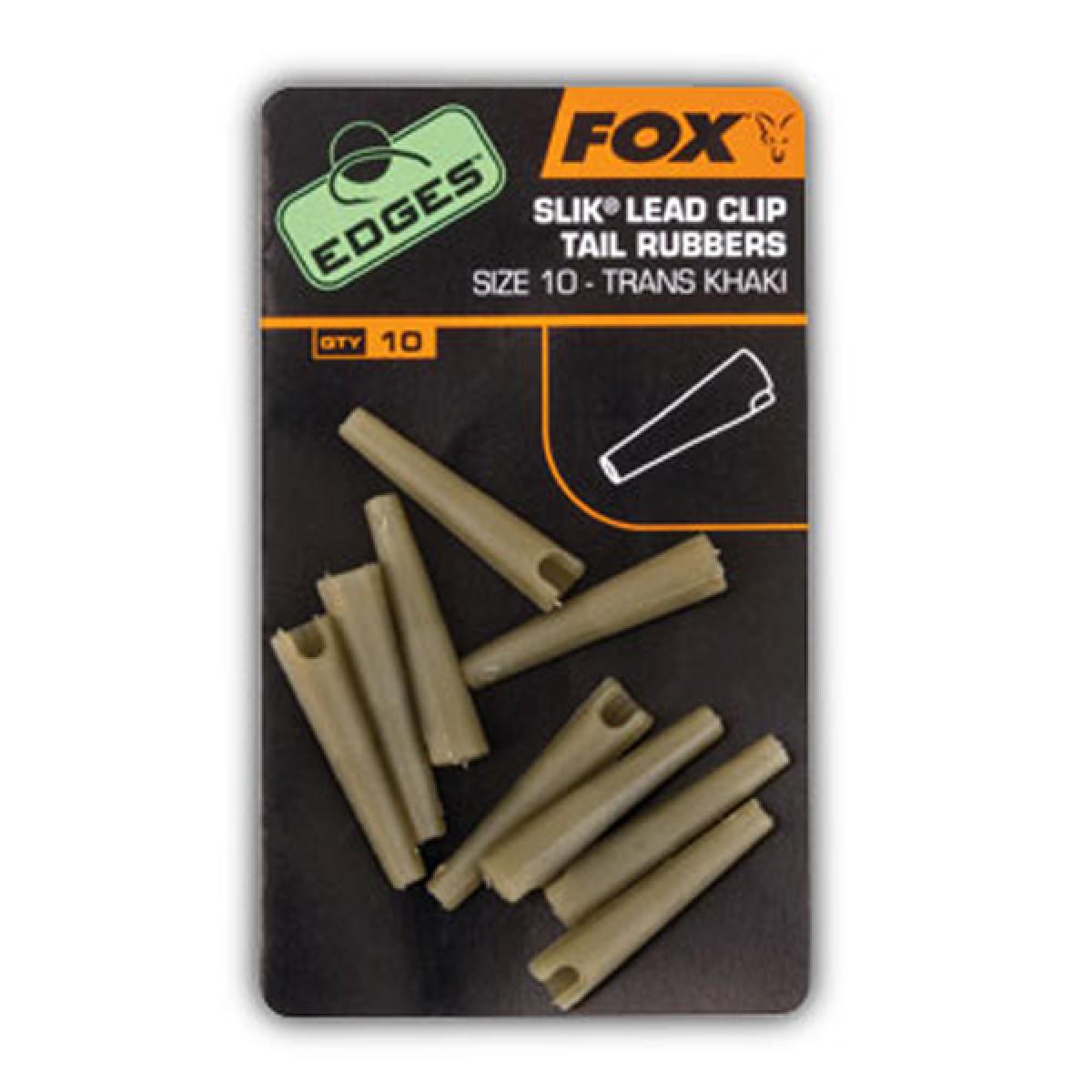 Slik Lead Clip Tail Rubbers