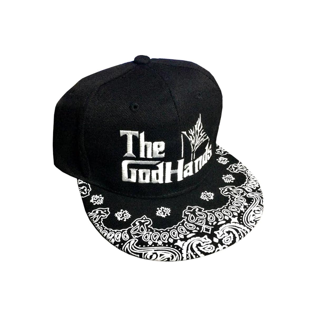 GOD HANDS FLAT CAP