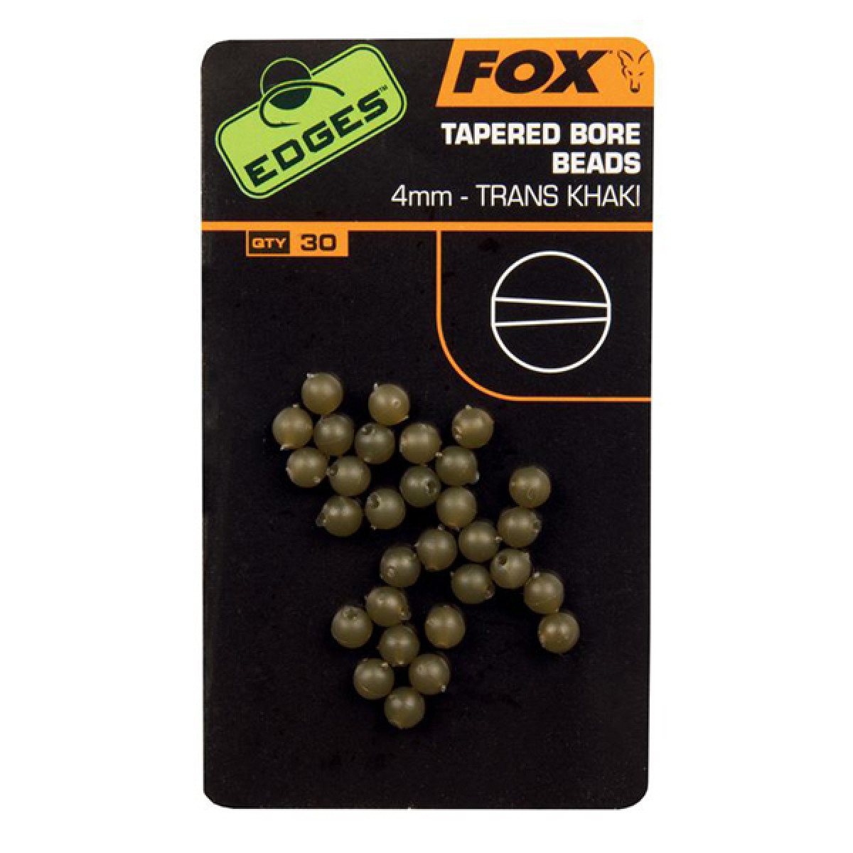 Tapered Bore Beads