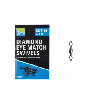 Preston Girelle Diamond Eye Match Swivels