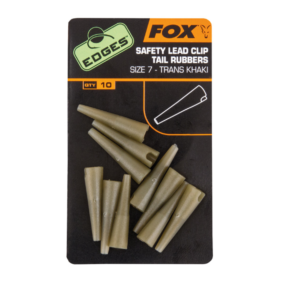 Lead Clip Tail Rubbers