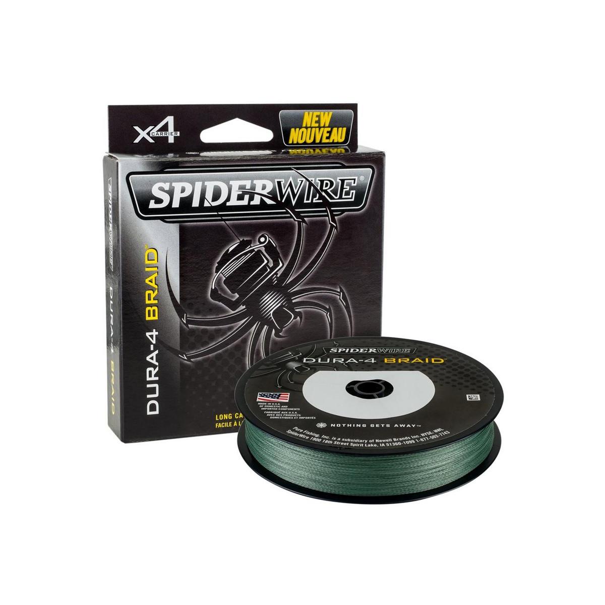 SPIDERWIRE DURA-4 BRAID 150M MOSS GREEN