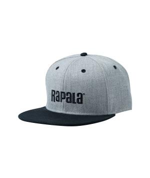 RAPALA FLAT BRIM CAP GREY/BLACK
